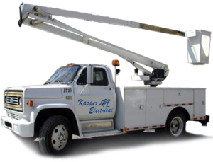 Kasper Electrical Commercial Service Truck in Wellington, Florida