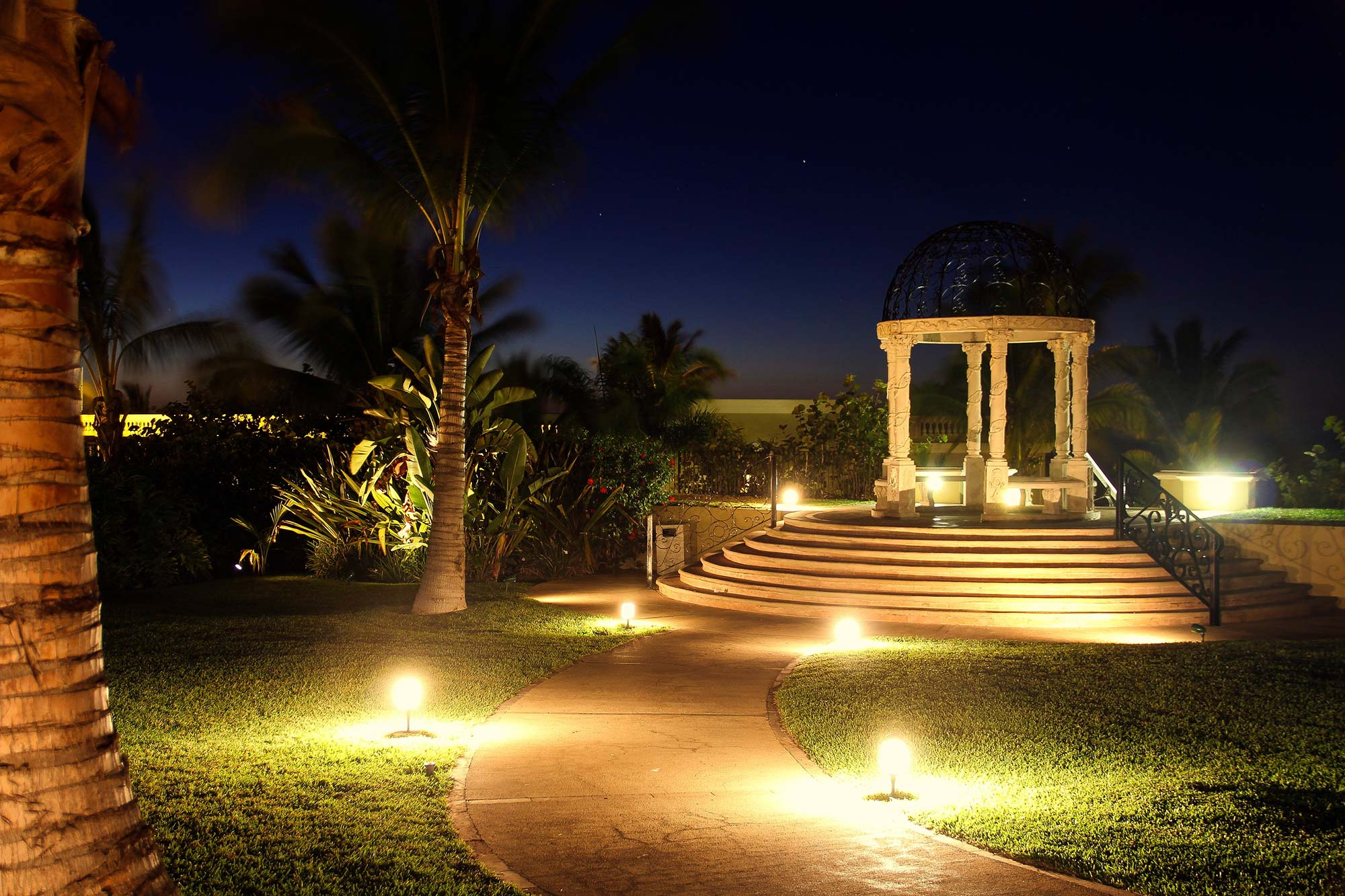 landscape lighting boynton beach delray beach jupiter fl